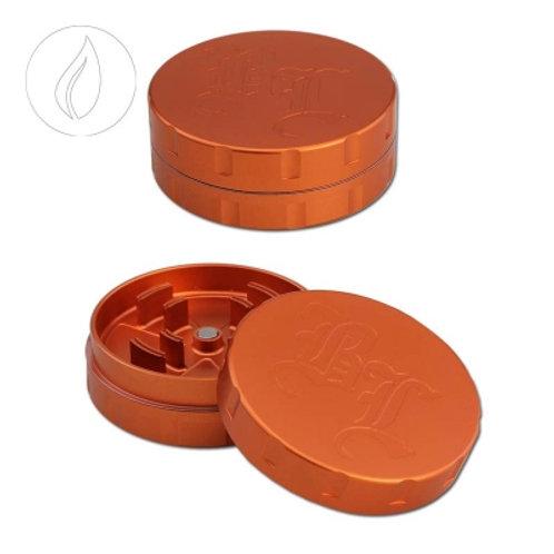 'BL' 'Startrails' aluminum grinder 2-part orange 62mm