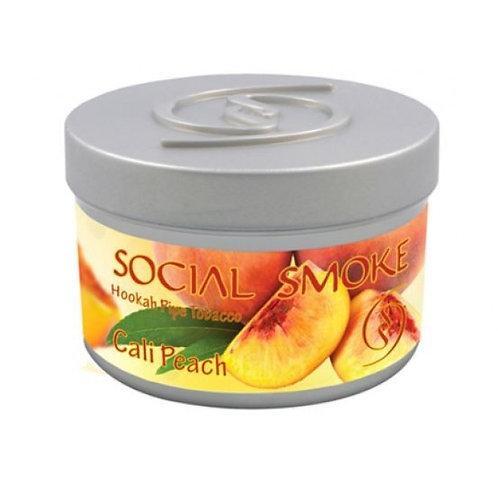 Social Smoke Peach Cali