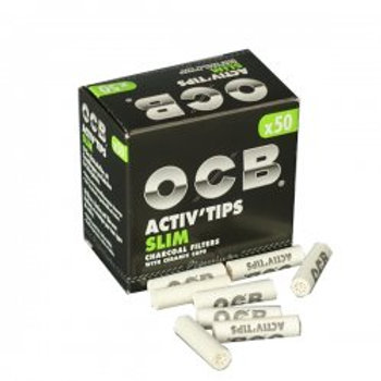 OCB ACTIV Tips Slim 1x50er-7/27mm