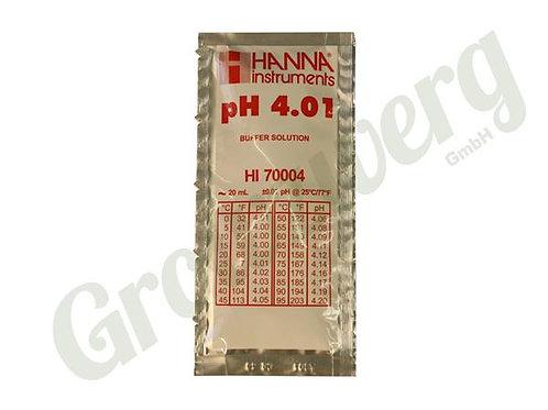 """Eichflüssigkeit Pufferlösung pH4.01""""25C - 1 Beutel à 20ml"""
