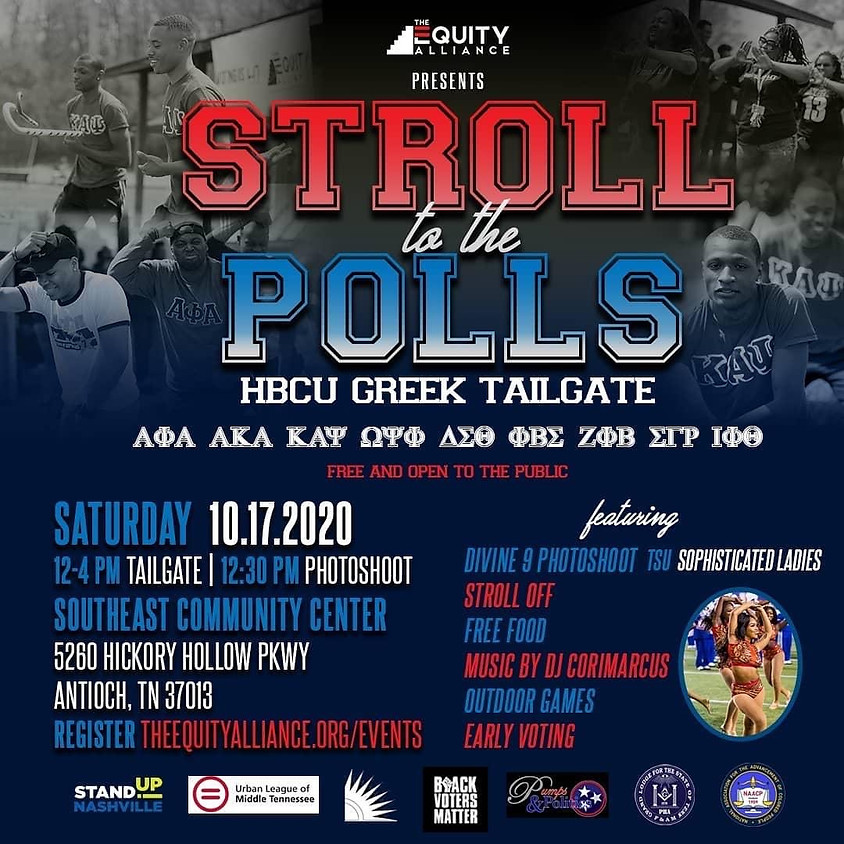 Stroll to the Polls!
