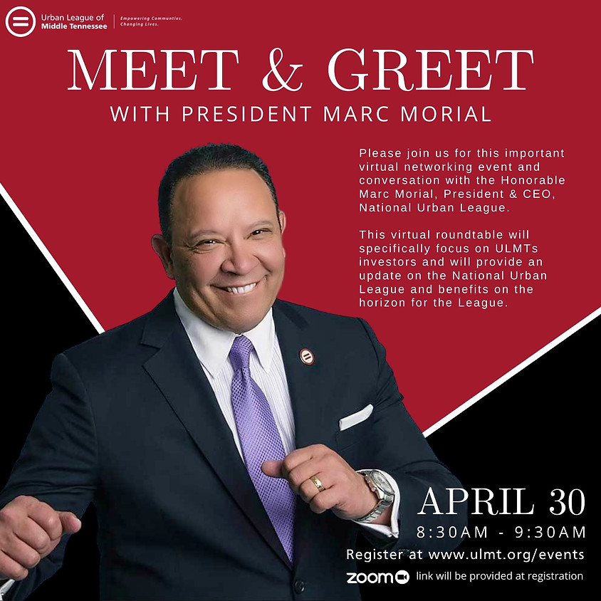 Converse with Honorable Marc Morial, President & CEO, National Urban League.