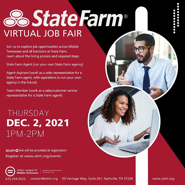 """""""Virtual State Farm Job Fair"""""""
