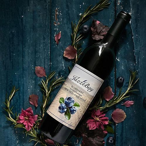 Jazz Bay - 2017 Blueberry Wine - 750 ml