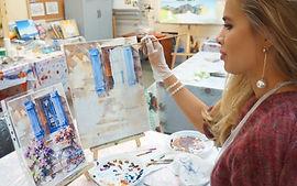 мастер-классы по живописи для взрослых и