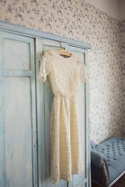 Historical Wedding Dress Display