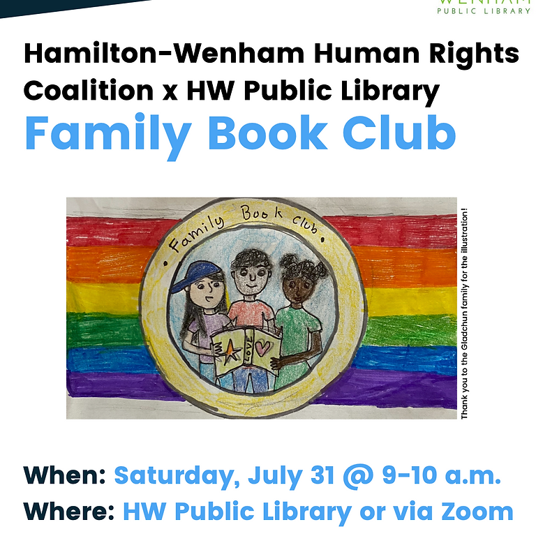 July Family Book Club