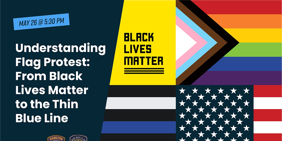 Understanding Flag Protest: From Black Lives Matter to the Thin Blue Line