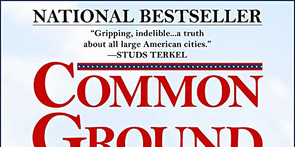 HWHRC Book Club:  Common Ground - Part 1
