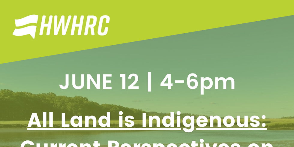 All Land is Indigenous: Current Perspectives on Native Culture, History, and Representation