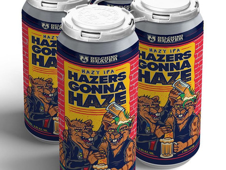 Belching Beaver Brewery - Hazers Gonna Haze