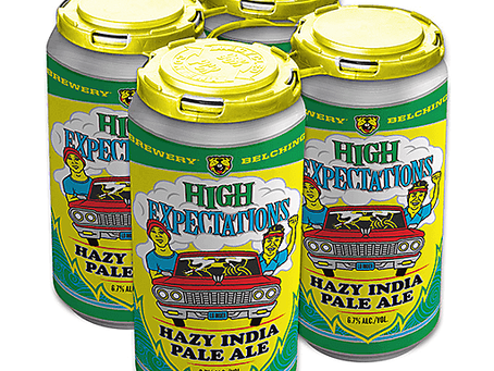 Belching Beaver and Karl Strauss Collaboration - High Expectations Hazy IPA