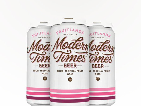 Modern Times Fruitlands - Sour Tropical Fruit Gose