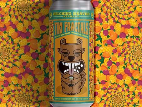 Belching Beaver Brewery- Tiki Fractals Hazy IPA
