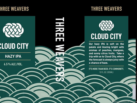 Three Weavers Brewing - Cloud City Hazy IPA