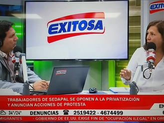 SUTESAL en Radio TV Exitosa