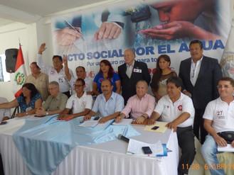 Pacto Social por el Agua