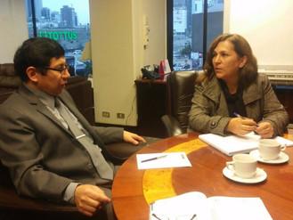 Reunión de trabajo con Ministro de Vivienda Edmer Trujillo