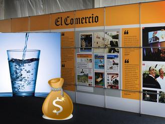 """Nota de Prensa: El Agua Potable de los Peruanos, tantas veces """"El Comercio"""""""