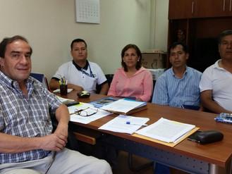Reunión con Presidente de Comisión de Vivienda Jhonny Lescano
