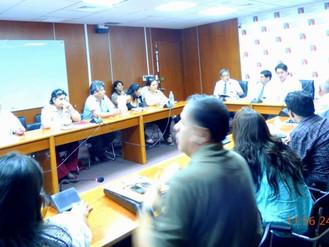 Reunión del miercoles 24/02 con el Viceministro de Vivienda y Dirigentes Vecinales