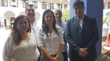 Reunión de Coordinación en Despacho de la Congresista Marisa Glave