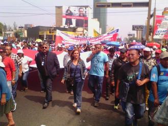 Gran Marcha Popular en contra de la Privatización de SEDAPAL