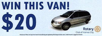 Rotary Van Ticket.JPG