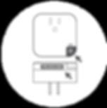 按住 ΣPlug 上的按鈕,直到 LED燈閃爍為止,並輸入US Plug的Pink碼