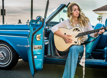 """Exclusive First Listen: Singer/Songwriter, Olivia Ooms, California Country"""""""