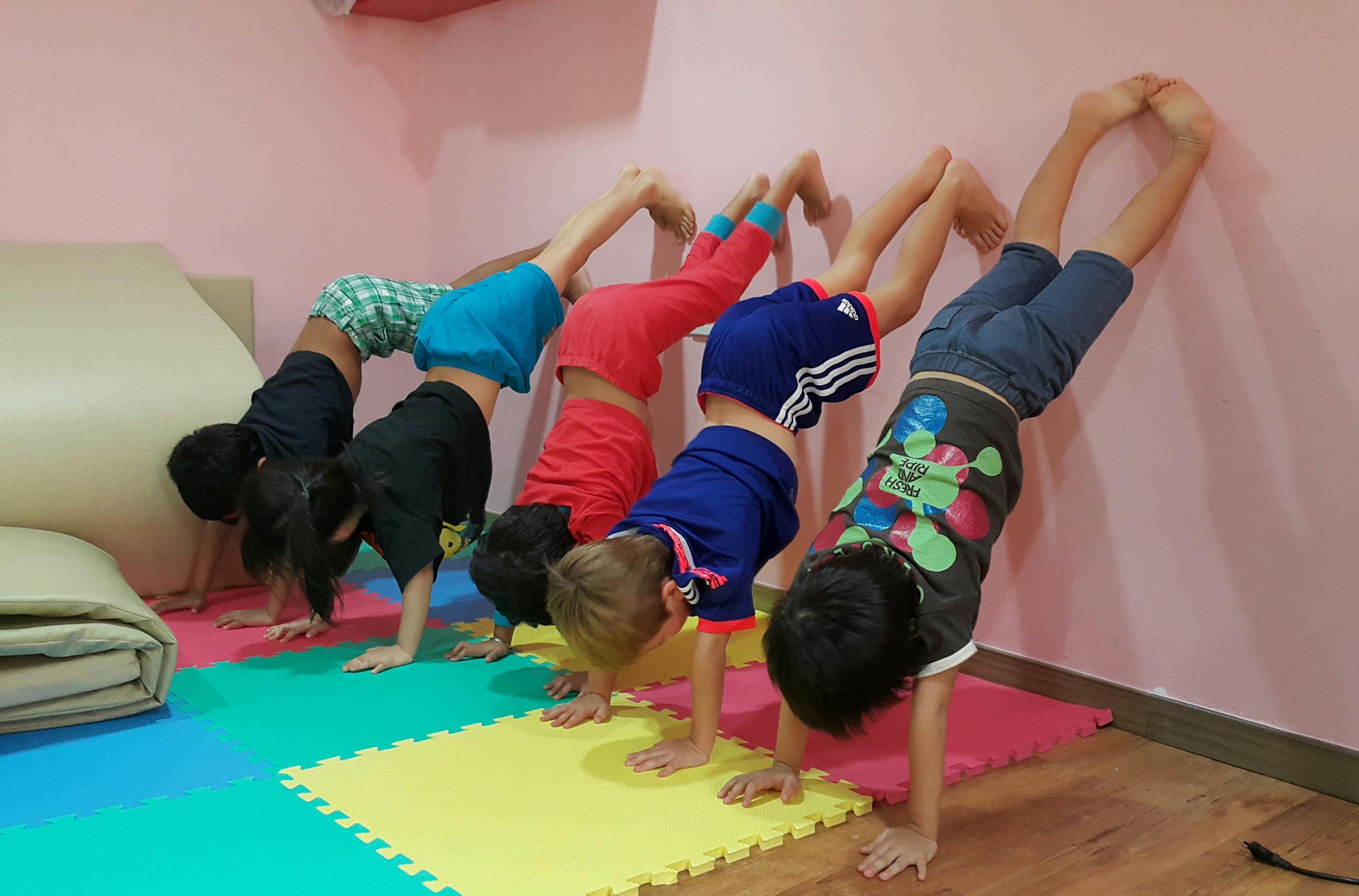 school gym class