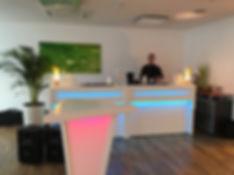 mobile Cocktailbar / mobile Bar / Tresenvermietung