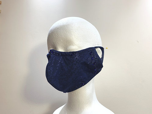 2. Tuxedo Face Mask