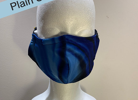 23. Men's Blue Black Mask