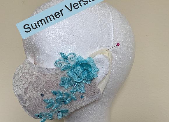 6. White / Blue Flower