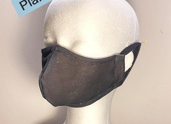 24. Gray Face Mask