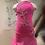 Thumbnail: Pink(magenta) Dress /XXS~XS