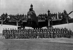 RAF Bomber Command 45 out of every 100 men were killed   Some of these remaining airmen came out on the Asturias and Stathnaver