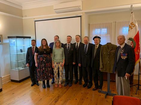 With family of Mr. Koczorowski