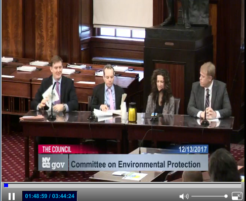 SWIM, Trust for Public Land, NRDC & Riverkeeper Delivering Our Testimony