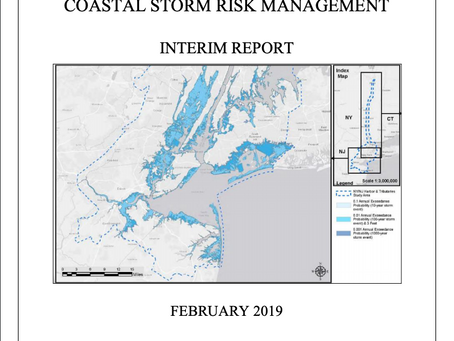 Important NYC Storm Barriers Public Meetings in March/April 2019!!