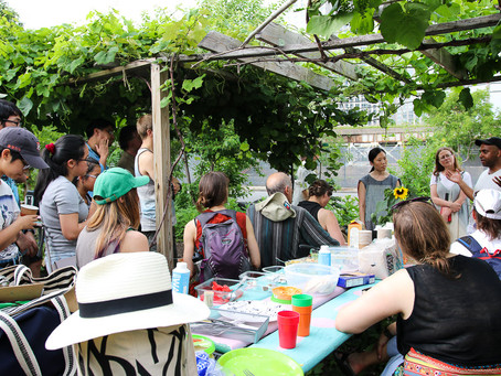 Getting to Zero in Dutch Kills Community Action Plan Summer Picnic