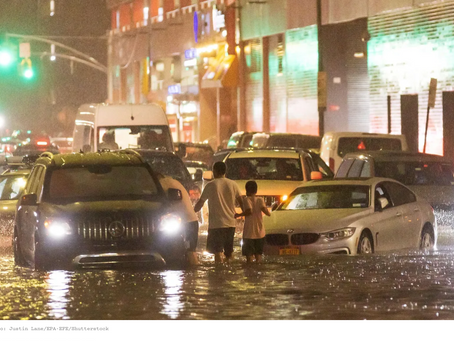EPA Calls on NYC to Use Rainfall Data Based on Climate Projections for Our Region