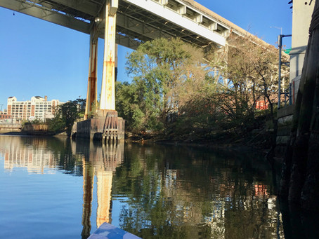 SWIM's Recent Boat Tour with Stewards of the Dutch Kills Tributary of Newtown Creek