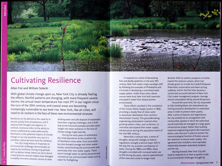 SWIM Shout Out in the Brooklyn Botanic Garden's Spring/Summer 2018 Newsletter!
