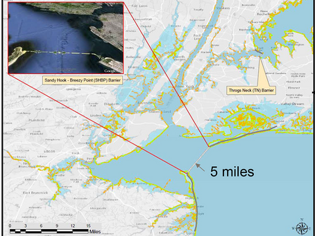 New Timeline for Army Corps Study of Storm Surge Barriers for NY/NJ