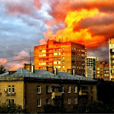 Вечерние пожары
