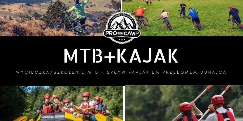 WYCIECZKA/SZKOLENIA MTB + KAJAK/PONTON