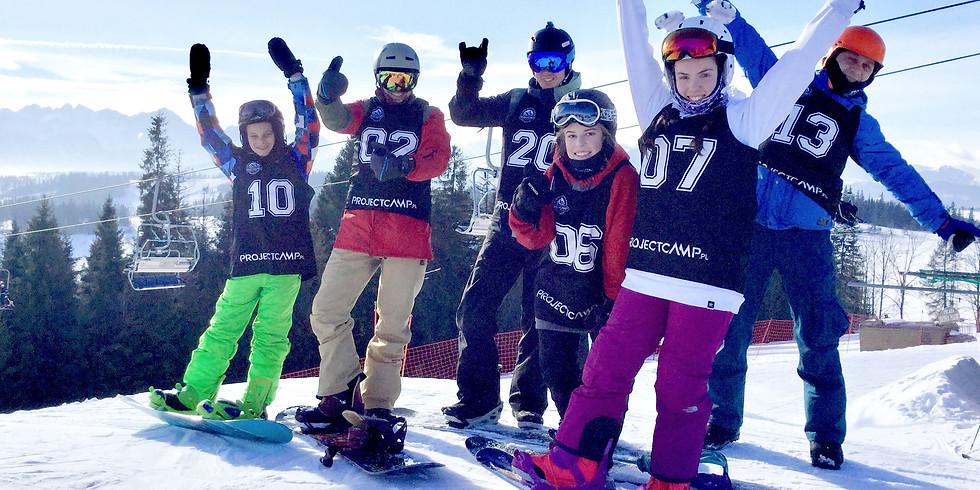 Ferie Snowboardowe 27-31.01.2020
