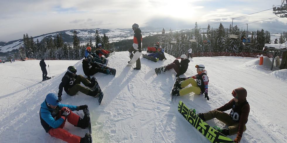 Ferie Snowboardowe 10-14.02.2020